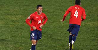 Chile a octavos de final
